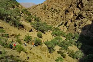 How to go to Negar valley?